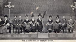 The Maelor Welsh Costume Choir.