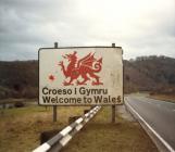 Bilingual 'Croeso i Gymru / Welcome to...