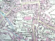 Wrexham OS Map, 1900