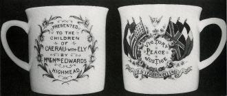 WWI Victory Mug, Ely