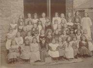 British School, Holyhead, Standard III, Girls...