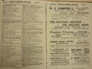 Bennetts Directory, North Wales, 1910