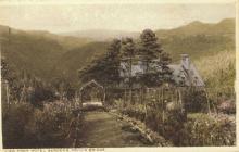 Devil's Bridge Hotel garden