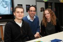 Commissioner visits Aberystwyth University