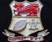 Rhymney RFC Blazer Badge