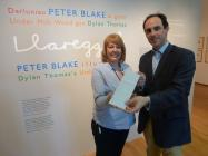 Commissioner previews Peter Blake show