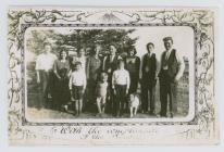 Rees James Jones & Ann Jones and the family...