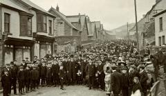 The Funeral for the Victims of the Clydach Vale...