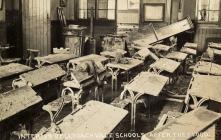 Clydach School Flood Damage, 1910