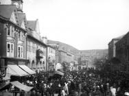 Llanidloes Fair and Market c1910-1920