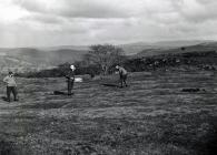 Golfers at Bala Golf Club c1905