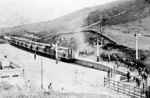 Gorsaf Drenau Trawsfynydd, 1915