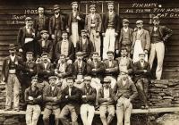 Cwm Elan Dam Workers, 1902