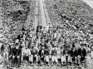 Pen y Bont Workers, Oakley Quarry, Blaenau...