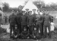 Llanidloes Military Camp c1910-1920