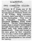 Two Comrades Killed - Denbighshire Free Press...