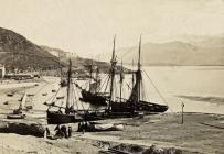 Barmouth Harbour and Cadair Idris c1910