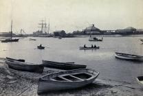 Foryd Bay Harbour c1910