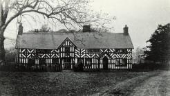 Llandinam Hall c1910