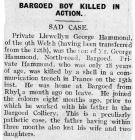 Bargoed Boy Killed in Action - Monmouth...