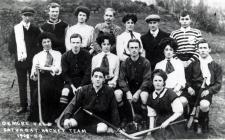 Ogmore Vale Saturday Hockey Team, 1908-1909