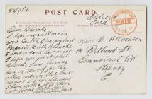 Postcard from Charlie to Blanch N Wooton,  24...