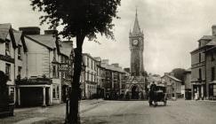 Heol Pentrehedyn, Machynlleth c1910
