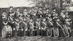 Salvation Army Band, Abertillery c1908