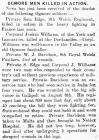 Ogmore Men Killed in Action - Glamorgan Gazette...