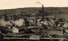Senghenydd colliery during the disaster 13-10-1913