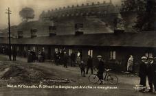 A street in Senghenydd during the colliery...