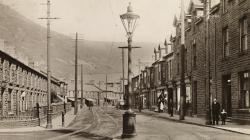 Treorchy High Street c1911