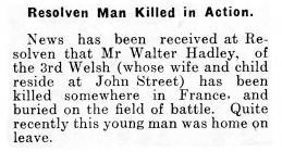 Resolven Man Killed in Action - Aberdare Leader...