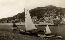Boats at Barmouth c1911
