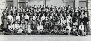 Ysgol Sir Tregaron, 1910