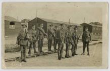 Royal Welch Fusiliers at Kinmel Camp