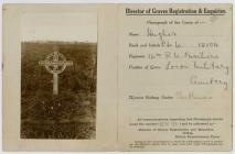 Bedd Preifat William Hughes, Llanfwrog, Sir Fon