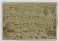 Jane Couzens in the Womens Army Corps,  c1914-1916