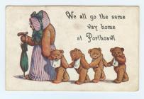 Cartoon postcard from Porthcawl