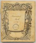 Beaumaris Gaol Misconduct Book, 1847-1874 ...