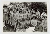 Llanberis Girls' Choir at the Eisteddfod,...