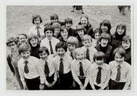 Pupils from Ysgol Rhydfelen School