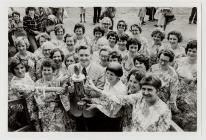 Clychau'r Fedwen Choir at the 1978 Eisteddfod