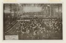Pafiliwn yr Eisteddfod  Dinbych 1882