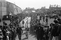 Rhosllannerchrugog Eisteddfod procession, 1945