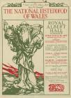 Poster for the London Eisteddfod, 1909