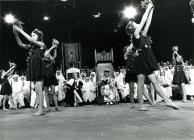Floral dance, chairing ceremony, 1977 Eisteddfod
