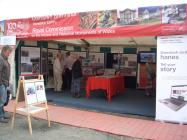 Royal Commission stand at the Eisteddfod 2010