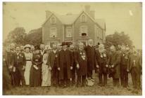 Officers of Caerwys Eisteddfod