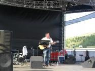 Dafydd Iwan on the Ebbw Vale Eisteddfod Maes, 2010